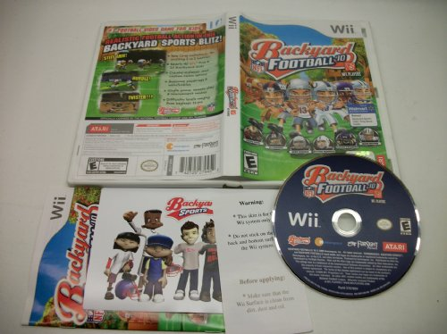 Backyard Football 10, Wii game Used