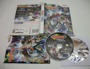 Beyblade Metal Fusion Battle Fortress, Wii game Used